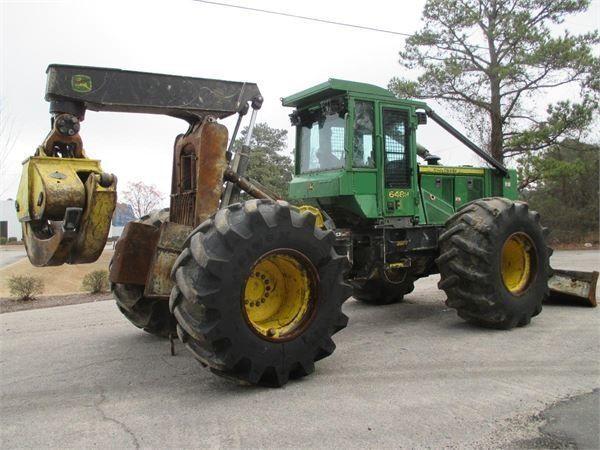 lesní traktor JOHN DEERE 648H