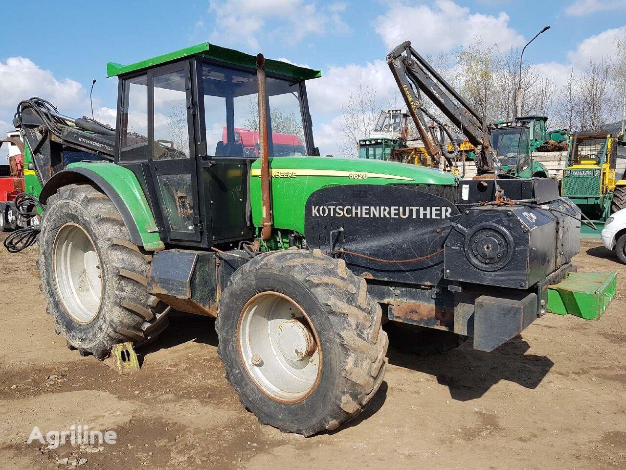 lesní traktor JOHN DEERE 6620 KOTSCHENREUTHER