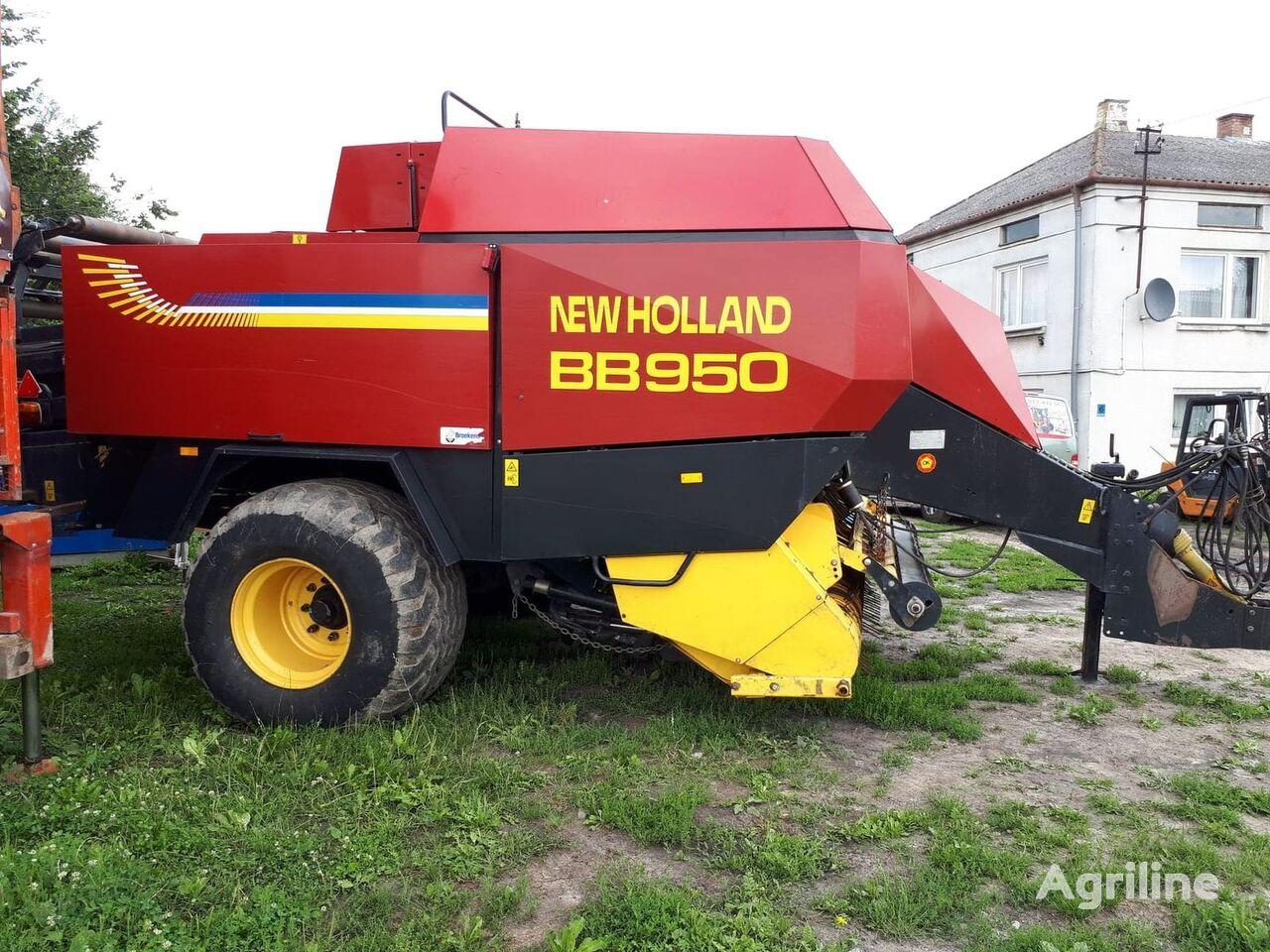lis na hranaté balíky NEW HOLLAND BB 950 pilnie