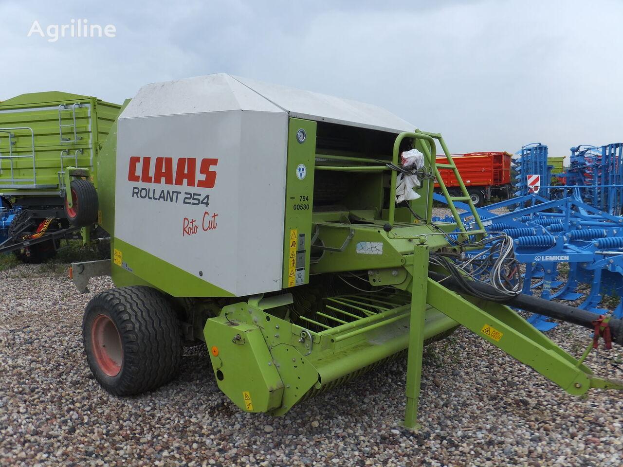 lis na kulaté balíky CLAAS Rollant 254
