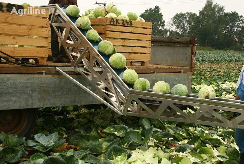 nový sklízeč brambor GRIMME Transporter dlya uborki kapusty