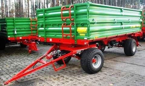 nový zemědělský přívěs PRONAR Przyczepa dwuosiowa  T672 8 t