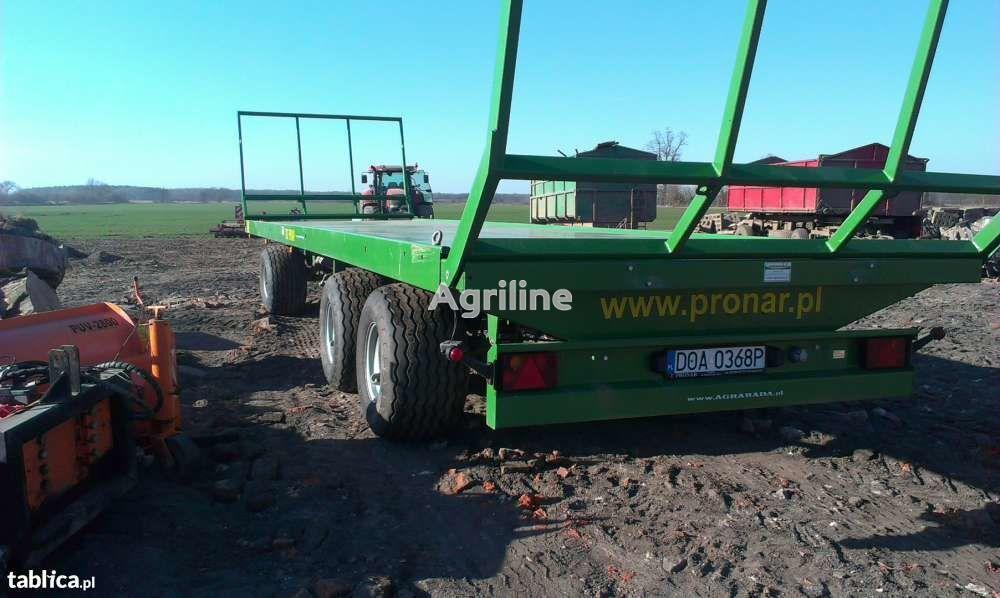 nový zemědělský přívěs PRONAR T026 13,7 t
